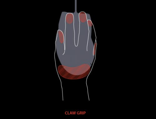Claw Grip for Gaming Mouse